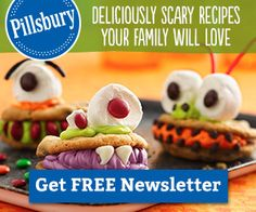 Cute recipes and free samples of Pillsbury!