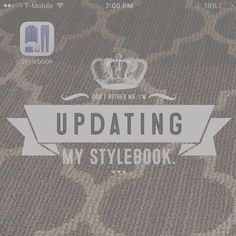 I am loving the @Stylebook #App that @CondeNast suggested! Currently taking pictures of my entire wardrobe  #OMGTalkAboutAHassle -- { : Got to remind myself that with hard work comes good things }