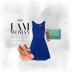 I Am Woman, created by rebeccacharlene