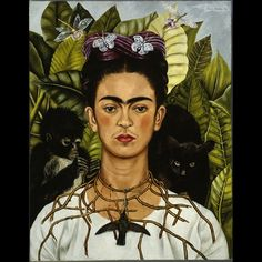 Frida Kahlo, Autoritratto con collana di spine, 1940. © Nickolas Muray Collection, Harry Ransom Center - The University of Texas at Austin, by...