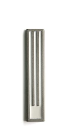 "Mezuzah - Long ""ש"" Concrete Color, Concrete Art, White Concrete, Concrete Design, Cement, Minimalist Living, Minimalist Decor, Modern Minimalist, Minimalist Design"