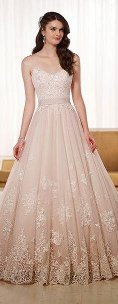 wedding dress #pink #fashion