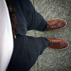 http://chicerman.com  justamenshoe:  The Sneaker in our rich and beautiful brandy patina. Get yours On Sale at www.justamenshoe.com  - Use Code SNEAK25 for $25 usd on each pair  FREE domestic Shipping - #justamenshoe #handmadeshoes #shoeporn #mensshoes #mensfashion #menswear #menstyle #gq #getdapper #shoegame #shoestagram  #menshoes