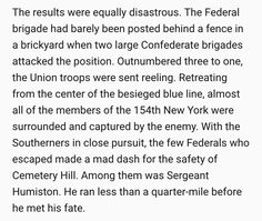 What happened to Amos Humiston and Company C during the battle, July 1, 1863