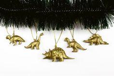 Enfeites de Natal - Dinossauros