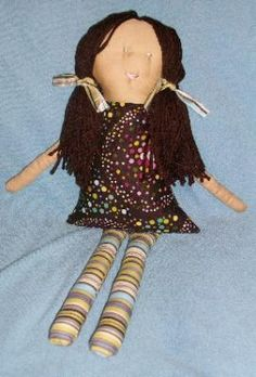 simple yet adorable cloth doll
