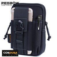 Men Outdoor Running Tactical Waist Pack 1000D Utility MOLLE EDC Waist Phone Bag