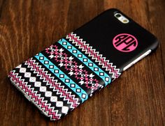 Ethnic Monogram iPhone 3D Wrap Case and Samsung Galaxy 3D Wrap Case #919