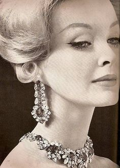 Sara Thom, Vogue 'Jewelry Special', Nov. 1959 | Flickr - Photo Sharing!