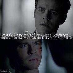 "#TVD 8x10 ""Nostalgia's A Bitch"" - Stefan and Damon"