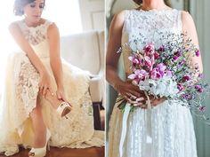 look noiva casamento no campo sapato de noiva casamento-ao-ar-livre-colher-de-cha-noivas-4