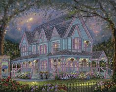 The Empress by Robert Finale ~ Victorian home Cape May, NJ
