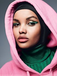 Hijab-Wearing Model Halima Aden Makes History as Allure July 2017 Cover Girl