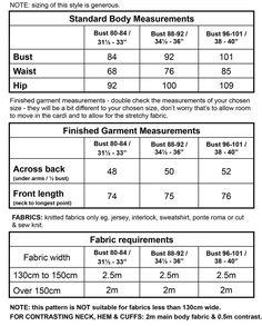 The Longley - Drapey Cardigan PDF Pattern