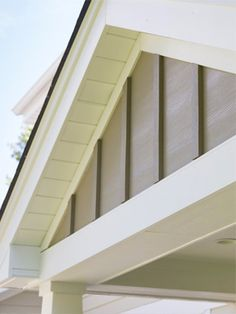 James Hardie - World Leader in Fiber Cement Siding and Backerboard --love the modern application of this product on housing exteriors and soffits. seen on many exteriors on house etc. cover stone with this??