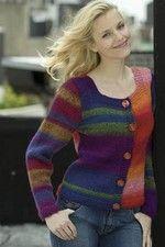 Gypsy Knit Colorblock Cardigan