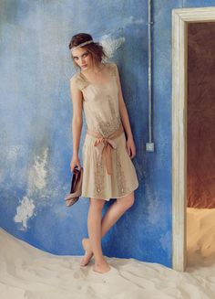 Lovely fresh shot from Hoss Intropia for their Spring Summer 2012 campaign… 20s Fashion, Vintage Fashion, Evening Dresses, Summer Dresses, Prom Dresses, Moda Vintage, Fashion Images, Fashion Ideas, Up Girl