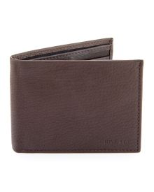 Byron Passcase Wallet - Crafted of genuine leather, Tommy Hilfiger's passcase wallet features three cardholders, a removable ID window and currency section to organize all your necessities in handsome style.