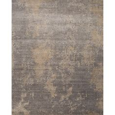 Hand Knotted Abstract Pattern Grey Wool/ Art Silk Area Rug (8'x10') - Overstock™ Shopping - Great Deals on Jaipur 7x9 - 10x14 Rugs