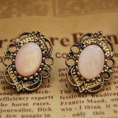 Western Retro Style Hollow out Rhinestone Earrings