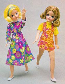 My Sindy - Fashions 1972 Vintage Barbie, Vintage Dolls, Retro Vintage, Sewing Doll Clothes, Sewing Dolls, Sindy Doll, Doll Toys, Tammy Doll, Fur Wrap