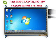 Discount! US $55.79  7inch HDMI LCD Rev2.1 800*480 Capacitive Touch Screen Touch LCD Display for Raspberry Pi Banana Pi BB Black Raspberry Pi/Pro  #inch #HDMI #Capacitive #Touch #Screen #Display #Raspberry #Banana #Black #PiPro  #BlackFriday