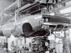 1968 Dodge Charger Beginning