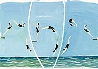 """Divers,"" by Maira Kalman, part of ""The Elements of Style""... I adore her work."