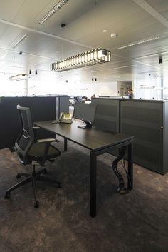 BACARDI BELGIUM #new headquarters DARK® #lighting #office #project at Vilvoorde BE [www.bacardi-martini.be] Office Lighting, Cool Lighting, Bacardi, Light Project, Lighting Solutions, Martini, Light In The Dark, Workplace, Belgium