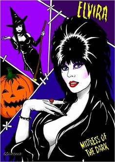 Uploaded by JoJo Ximenes. Find images and videos about elvira on We Heart It - the app to get lost in what you love. Horror Icons, Horror Art, Horror Movies, Pinup, Elvira Movies, We Heart It, Dark Princess, Dark Pictures, Vintage Horror