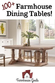 Discover the top-rated farm home dining table sets and rustic dining tables. When you are looking for farmhouse dining room furniture, you will find it here. Farmhouse Bedroom Furniture Sets, Farmhouse Dining Room Table, Dining Tables, Dining Room Furniture, Kitchen Inspiration, Top Rated, Goals, Rustic, Ideas