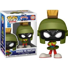 Vinyl Figures, Action Figures, Looney Tunes Space Jam, Tiny Titans, Baby Driver, Marvin The Martian, Pop Culture References, Daffy Duck, Licence Lea
