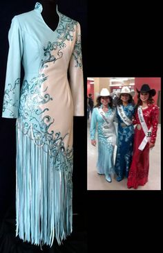 rodeo queen dresses | Leather Rodeo Queen Apparel Gallery 1