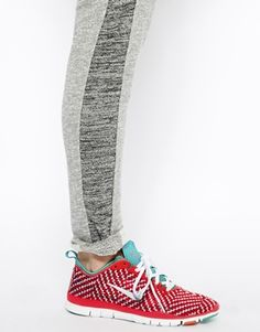 online retailer 74d1b d1c1e Image 4 of Nike Red Chequered Free 5.0 Tr Fit 4 Trainers Formateurs, Asos