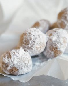 """Mexican Wedding Cookies 