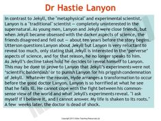 Dr Jekyll and Mr Hyde teaching resources – PowerPoint, worksheets and lessons