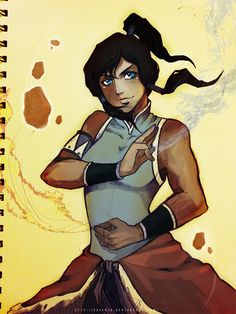 Notebook #Korra best show ever!!!