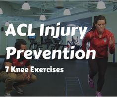 ACL Injury Prevention. Watch as Team USA soccer player, Ali Krieger, demonstrates 7 knee exercises to prevent an acl injury