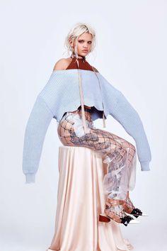 Amina Blue for CR Fashion Book