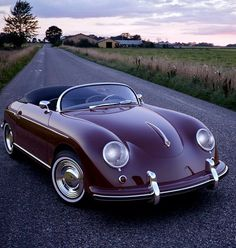 Porsche 356B Roadstar. Visit: http://carpictures.us - Thousands of car pictures. #stylishclub