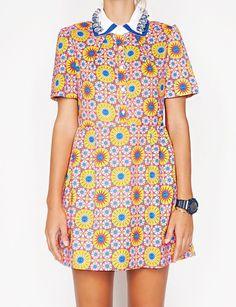 60s tennis dress