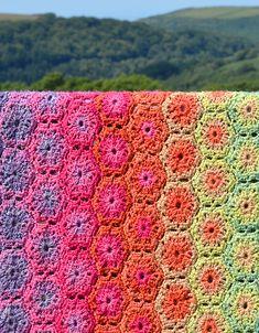 Ravelry: Rita Crochet Blanket pattern by Amanda Perkins