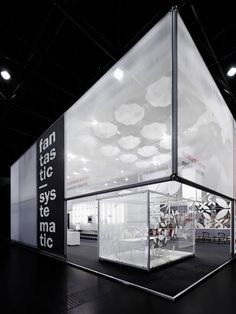 Burkhardt leitner exhibition stand-incredible black and white spacial design - textural, simple exhibition Exhibition Stand Design, Exhibition Stall, Exhibition Display, Pop Display, Display Design, Store Design, Boutique San Francisco, Web Banner, Banners