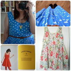 Lilou Dress - Tilly Walnes 'Love at First Stitch'