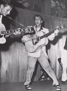 Elvis Presley, Tampa, Florida July 31, 1955