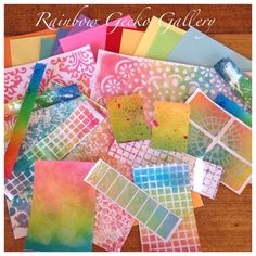 Rainbow Gecko Gallery Rainbow Papers by RainbowGeckoGallery