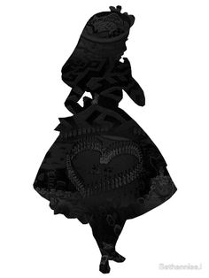 """unmistakenly Alice. Love the dress. I wear a poofy dress now too, so having an Alice like silhouette some where might be a nice touch to reference my new look, and the """"Alice in wonderland' theme of my business name."""