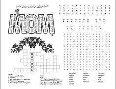 Mother's Day-Activities