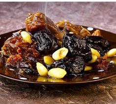 فن الطبخ : طريقة عمل طاجين اللحم بالبرقوق
