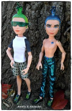 "Custom ""Boys Will Be Boys"" Shirt or Pants ONLY Fits Monster High Boys Dolls OOAK Doll Fashions MH Designer Clothes"